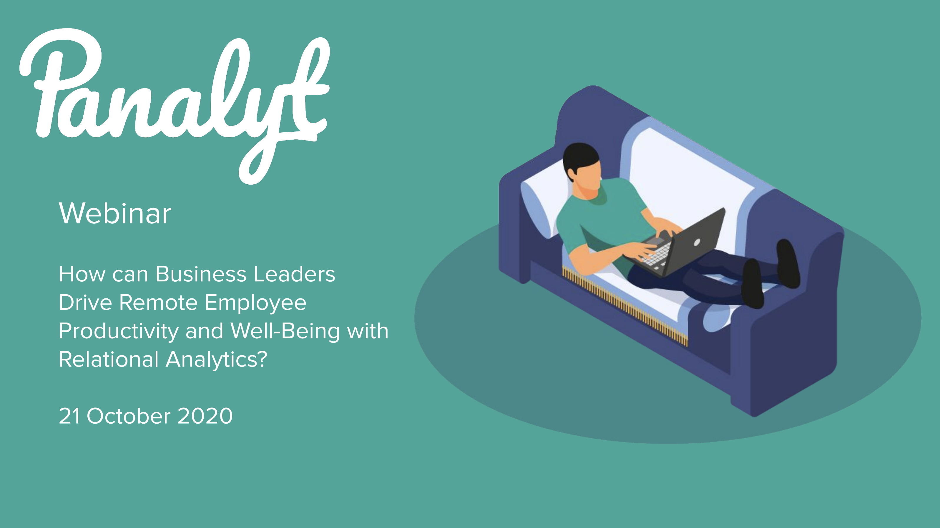 Relational Analytics: How Can Business Leaders Drive Remote Employee Productivity & Well-Being?