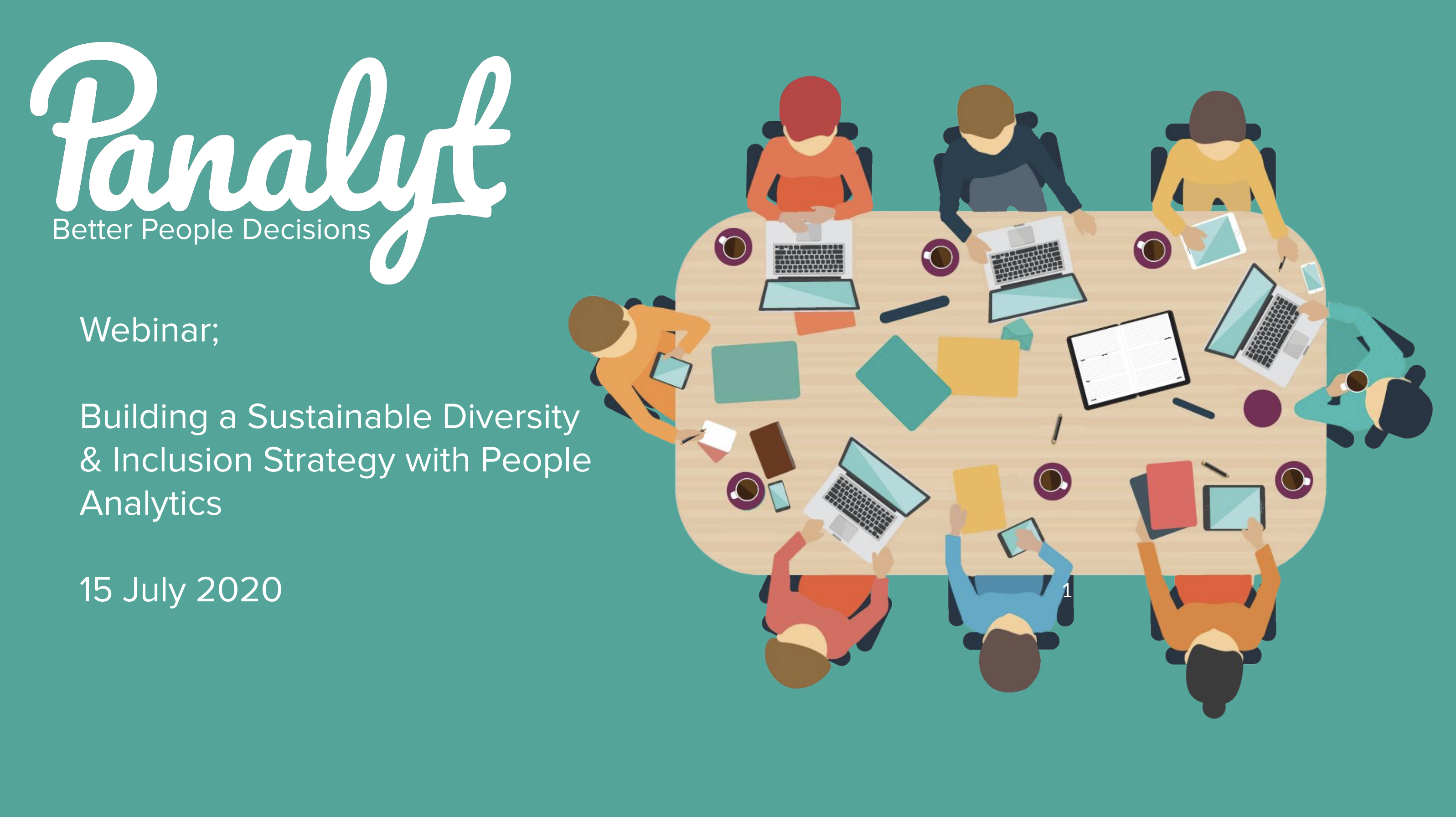 People Analytics: Building a Sustainable Diversity, Equity and Inclusion Strategy